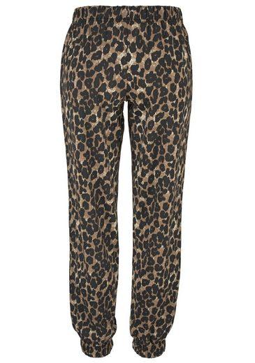 Buffalo Pyjama mit schmaler Hose im Leolook