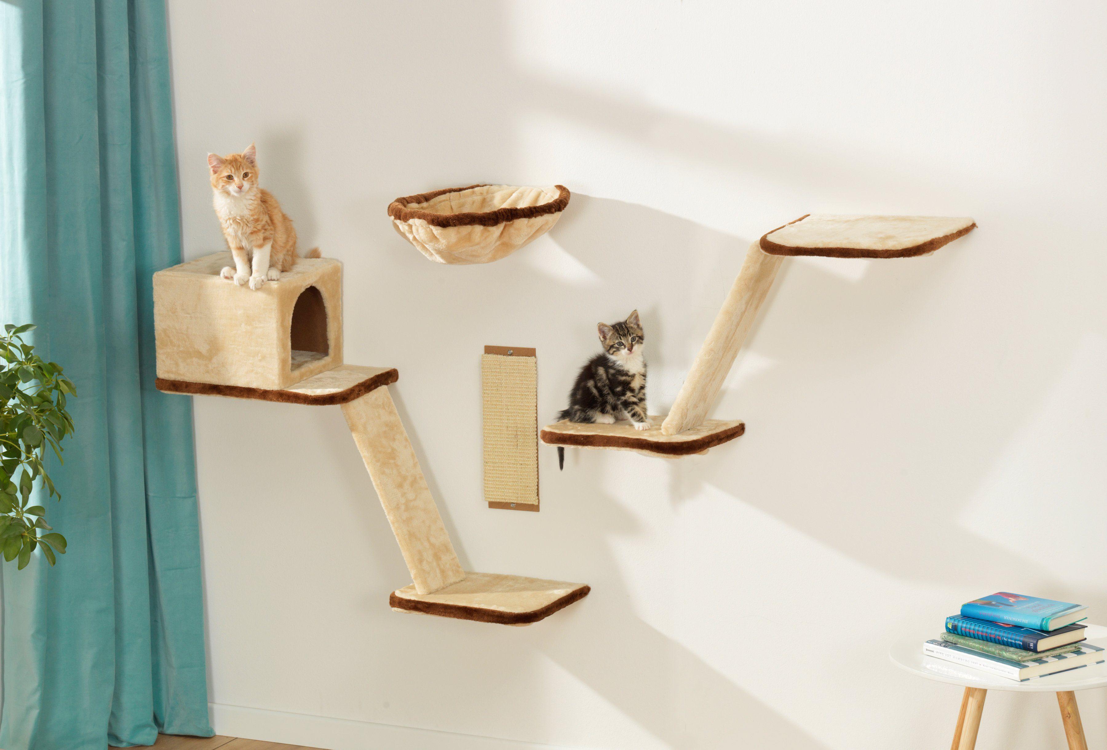 Silvio Design Katzen-Kletterwand »8-tlg. «