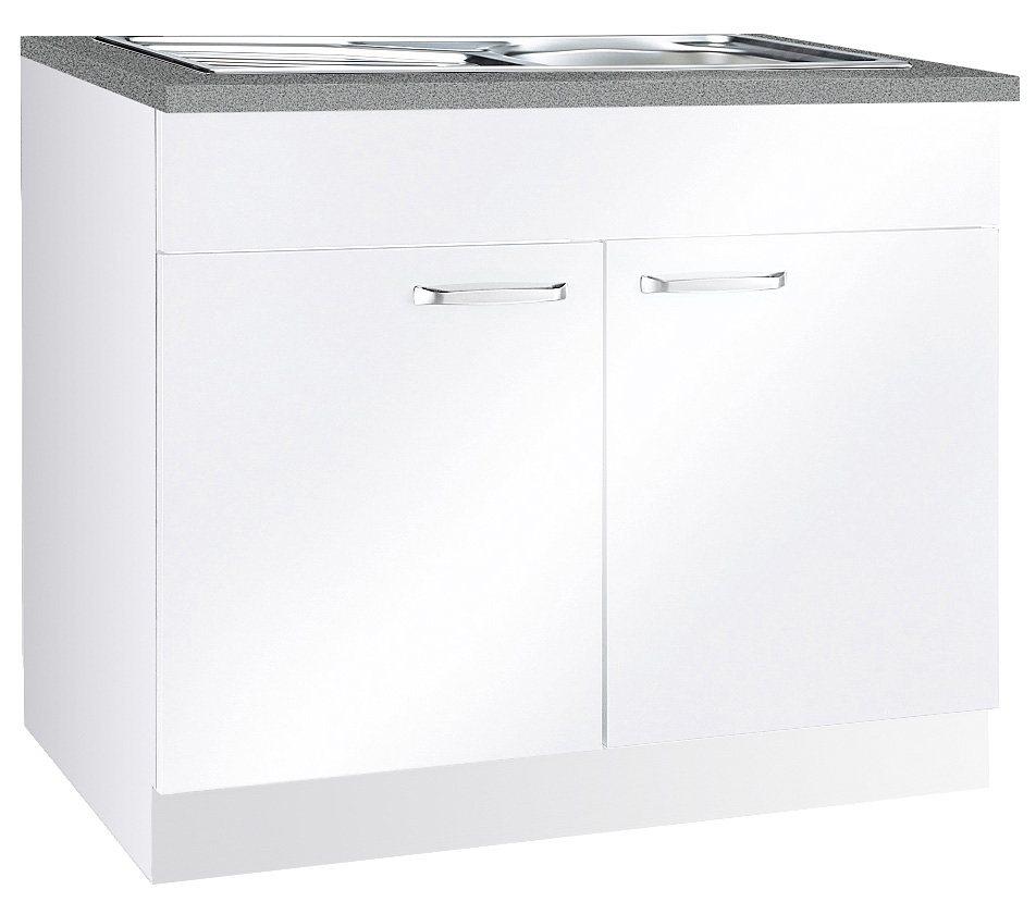 Spülenschrank »Basel« in Weiß
