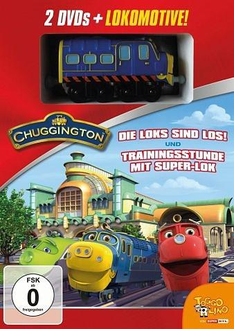 DVD »Chuggington 01+ 02 - Die Loks sind los /...«