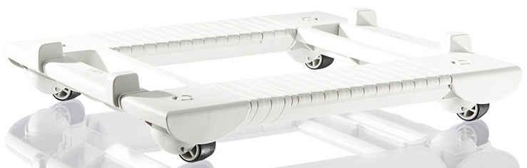 Venta Rollwagen, für Venta-Luftwäscher in weiß