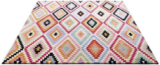 Teppich »Fresh Kelim«, Wecon Home, rechteckig, Höhe 8,5 mm