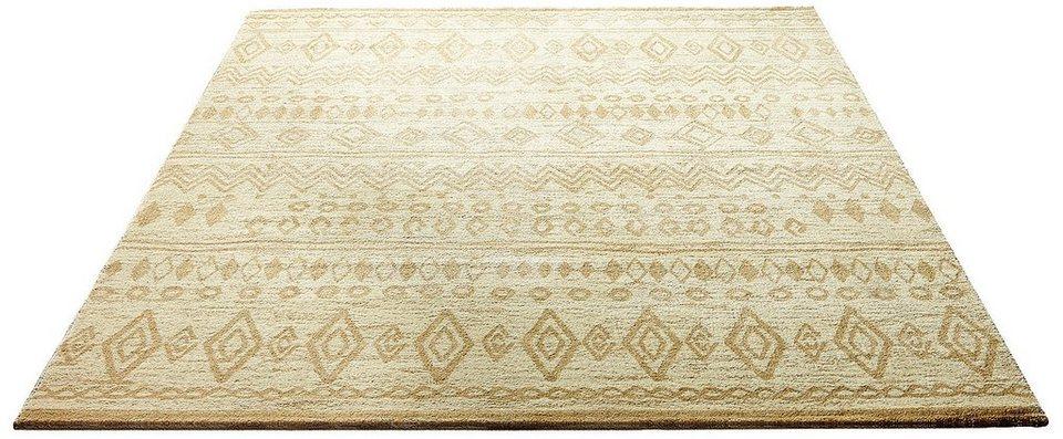 Teppich, Wecon home, »Contemporary Kelim«, gewebt in beige
