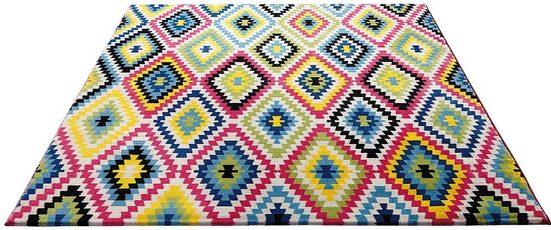Teppich »Fresh Kelim«, Wecon home, rechteckig, Höhe 8,5 mm, Wohnzimmer