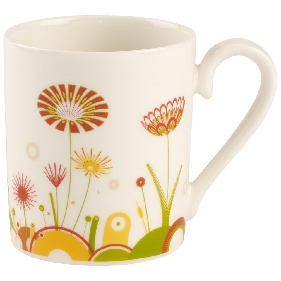VILLEROY & BOCH Becher mit Henkel Sunrise »Little Gallery Mugs« in Dekoriert