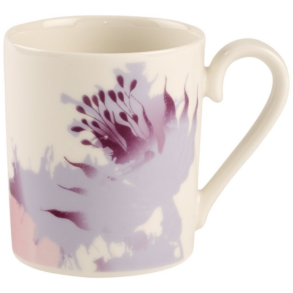 VILLEROY & BOCH Becher mit Henkel Imperio Rose »Little Gallery Mugs« in Dekoriert