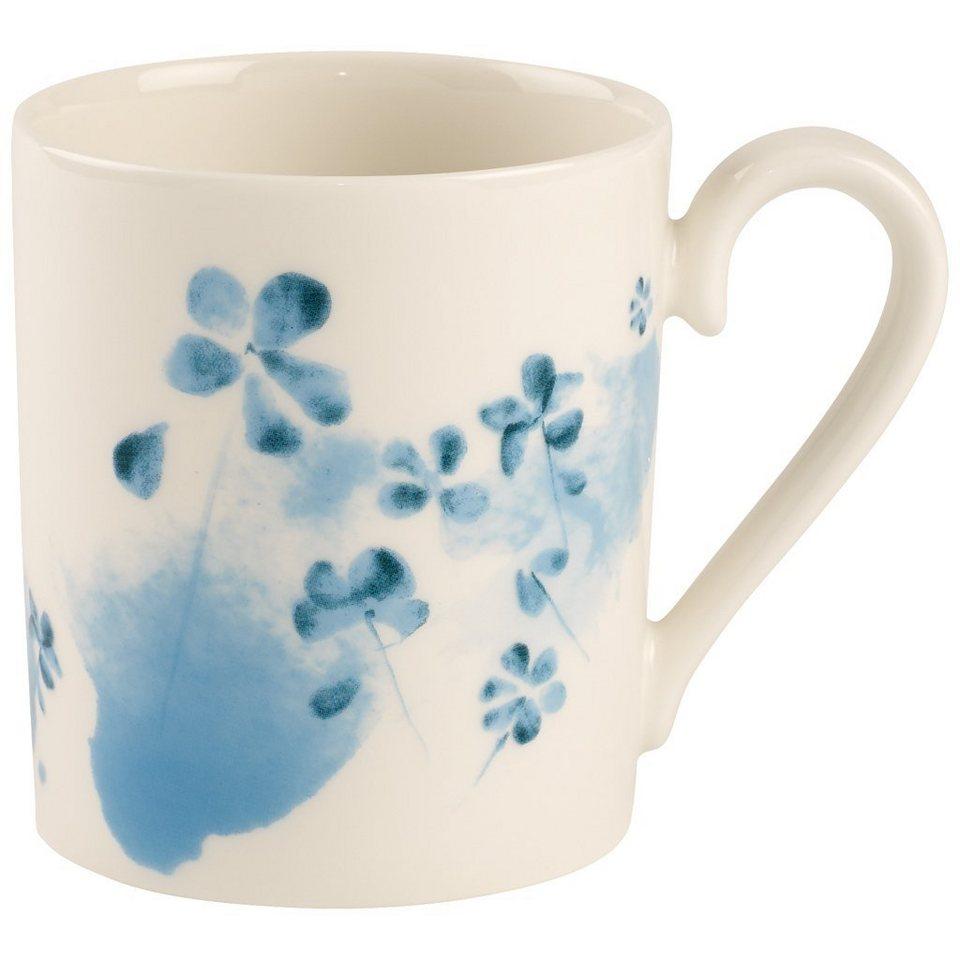 VILLEROY & BOCH Becher mit Henkel Blue Blossom »Little Gallery Mugs« in Dekoriert