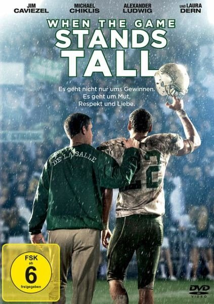 DVD »When the Game Stands Tall«