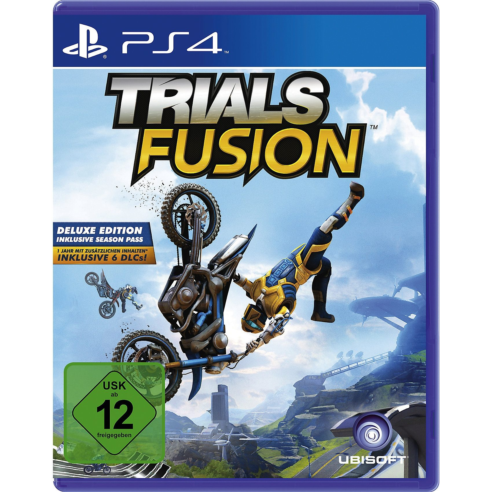 ak tronic PS4 Trials Fusion