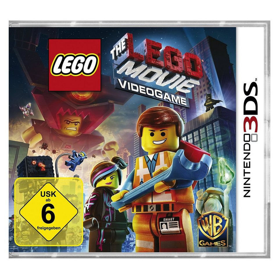 LEGO 3DS The Movie Videogame
