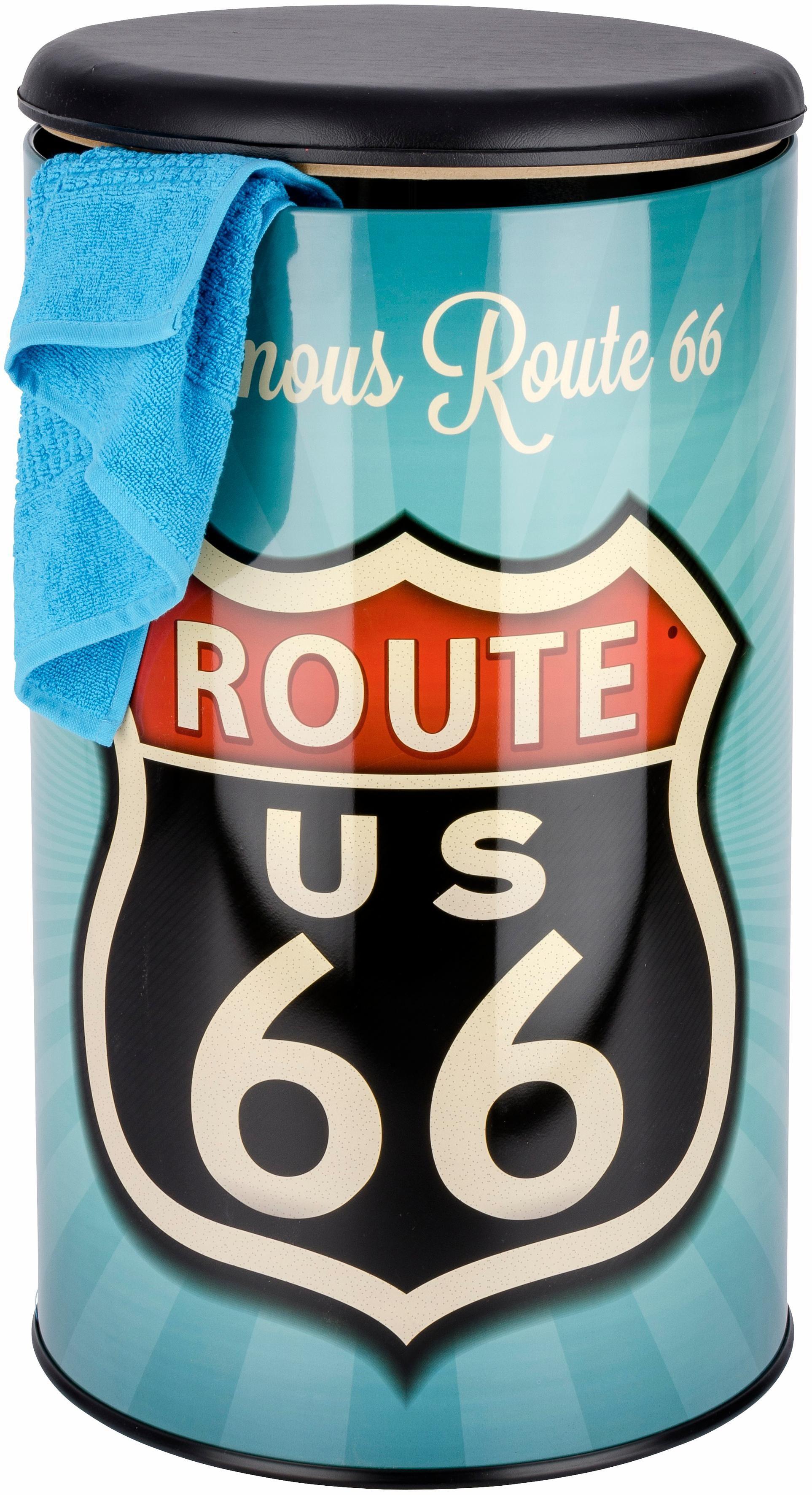 Wenko Badhocker Vintage Route 66