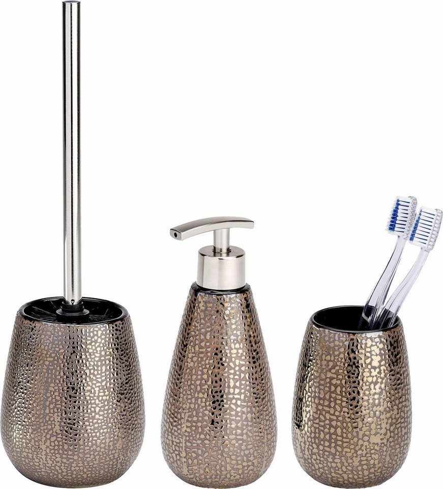 WENKO Bad-Accessoire-Set Marrakesh, 3-teilig | OTTO