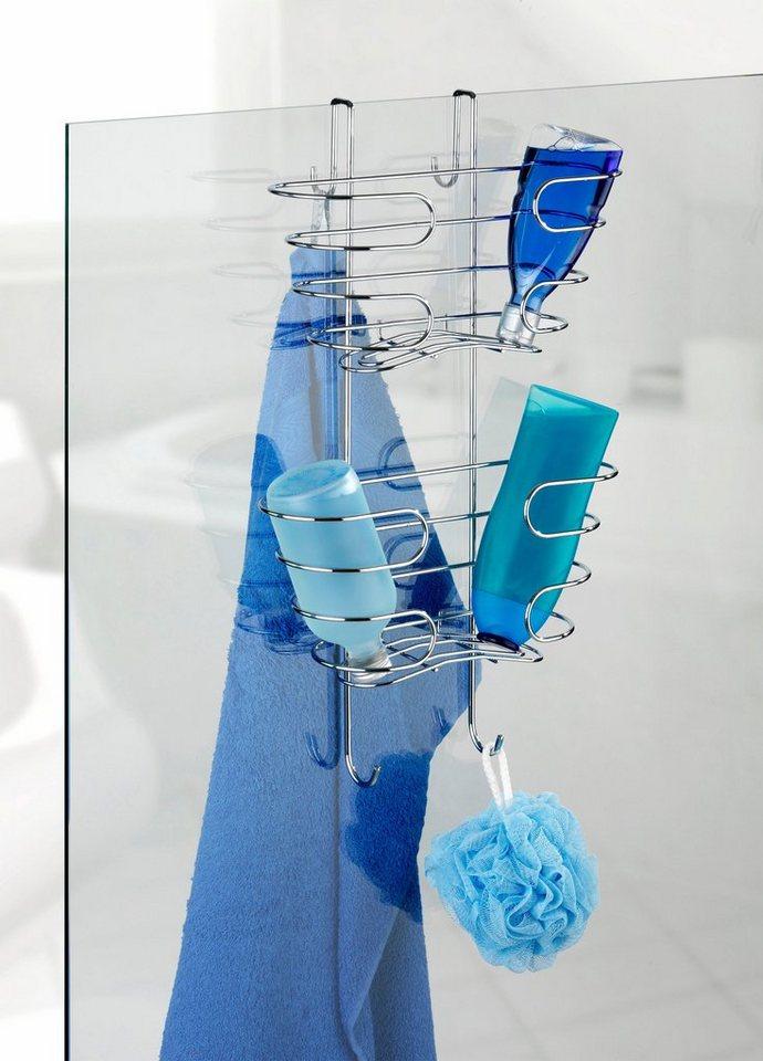 Wenko Shampoo-Ablage 2 Etagen, Edelstahl rostfrei in Silber glänzend