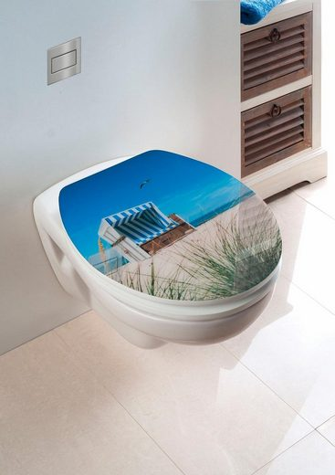 wenko wc sitz hochglanz acryl strandkorb absenkautomatik fix clip hygiene befestigung online. Black Bedroom Furniture Sets. Home Design Ideas