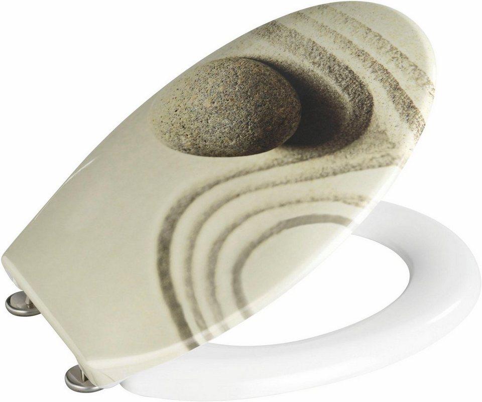 wenko wc sitz sand and stone online kaufen otto. Black Bedroom Furniture Sets. Home Design Ideas