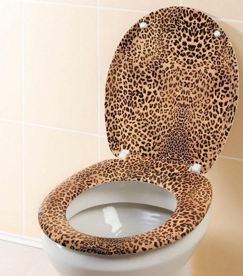 Wenko WC-Sitz Leo in Mehrfarbig