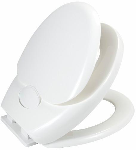 Wenko WC-Sitz Family, mit Absenkautomatik in Weiß