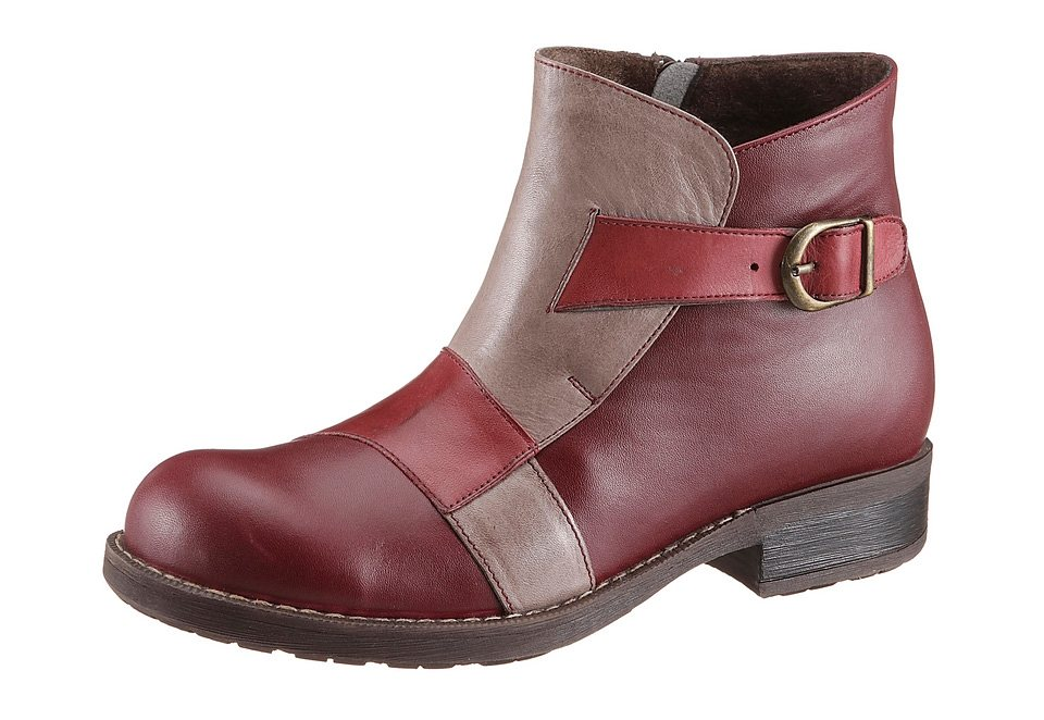 Hush Puppies Stiefelette in bordeaux