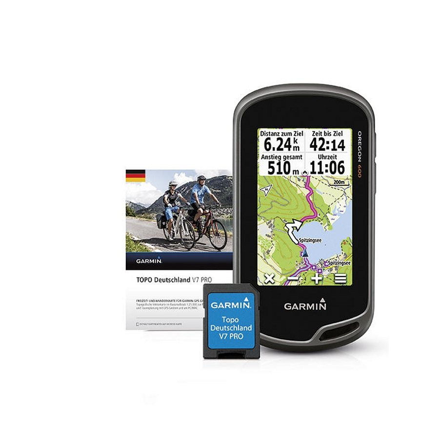 Garmin Navigationsgerät »Oregon 600 + TOPO Deutschland PRO V7 Bundle«