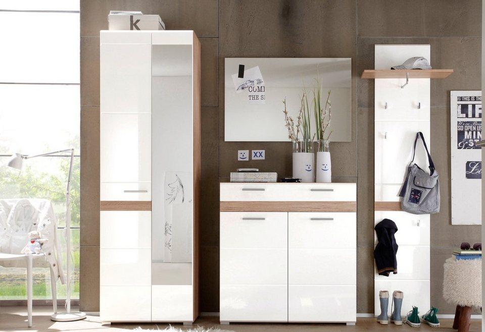 trendteam garderoben set kuba 4 tlg mit viel stauraum online kaufen otto. Black Bedroom Furniture Sets. Home Design Ideas
