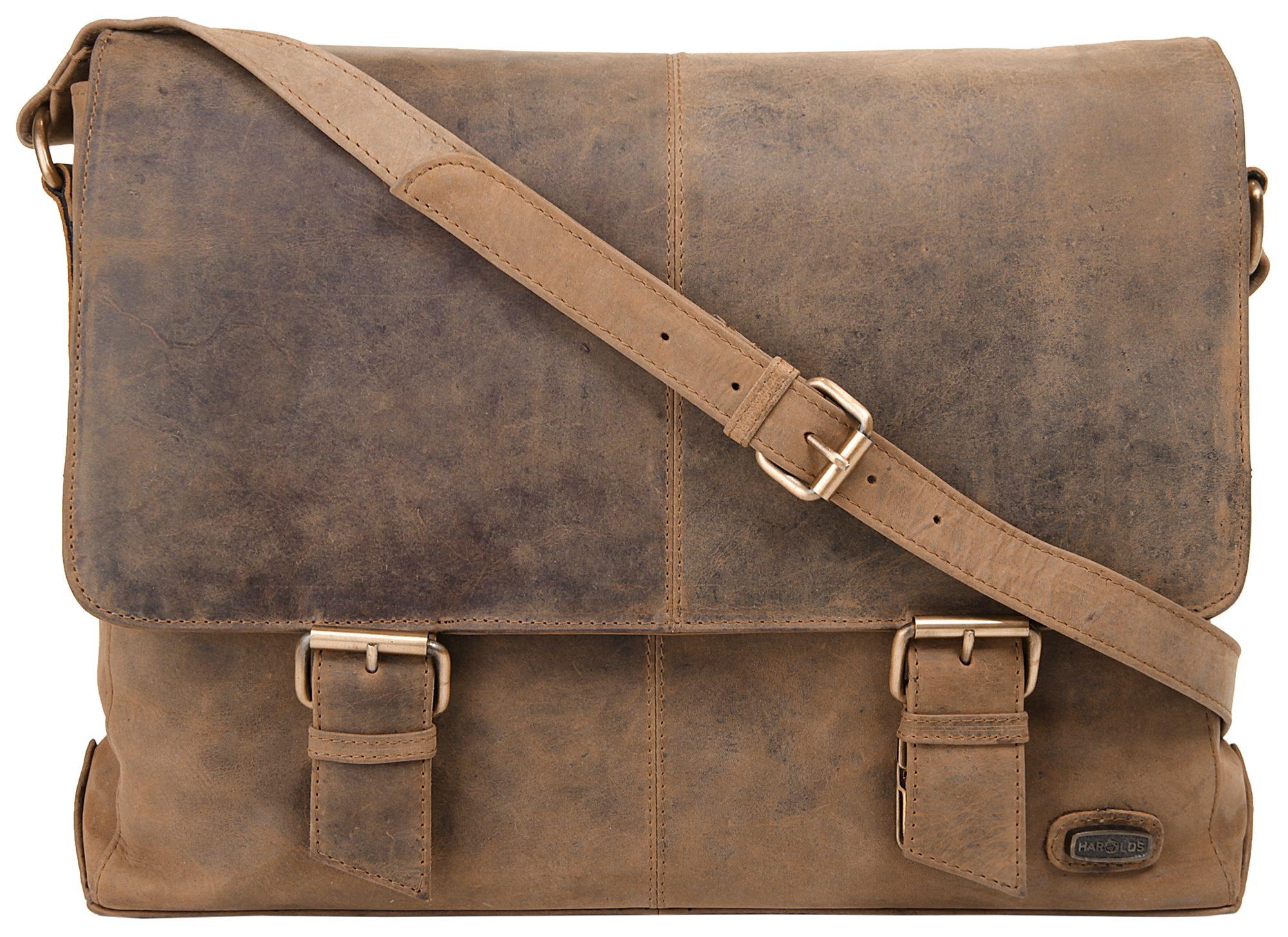 Harold's Leder Messengerbag »Antik«