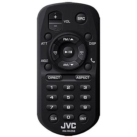 JVC Fernbedienung Multimediareceiver »RM-RK258« in schwarz
