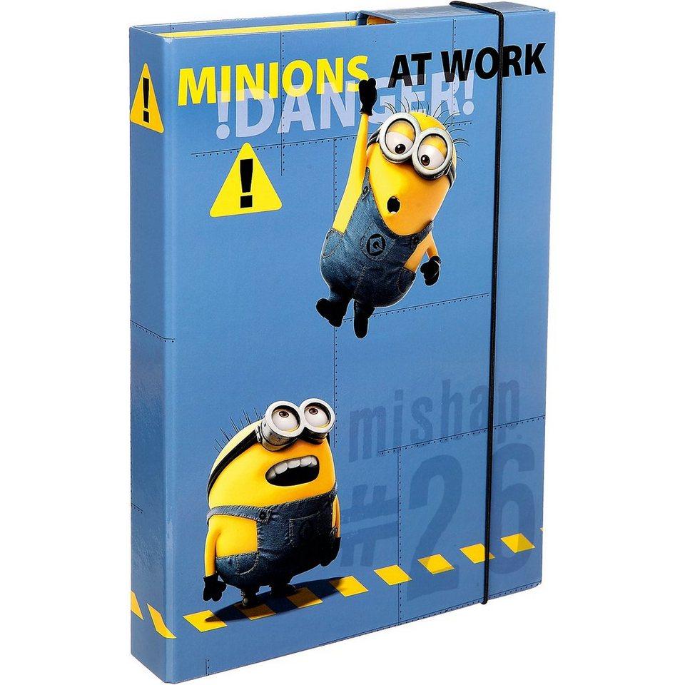 UNDERCOVER Heftbox A4 Minions