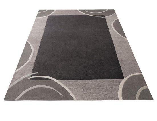 Wollteppich »Bellary«, Theko Exklusiv, rechteckig, Höhe 13 mm, reine Wolle, mit Bordüre, Wohnzimmer
