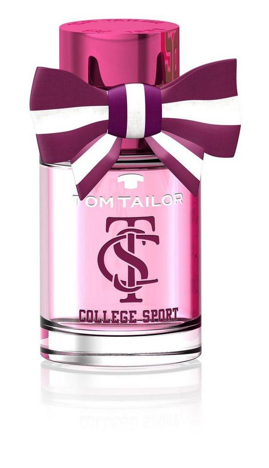 Tom Tailor, »College Sport Woman«, Eau de Toilette