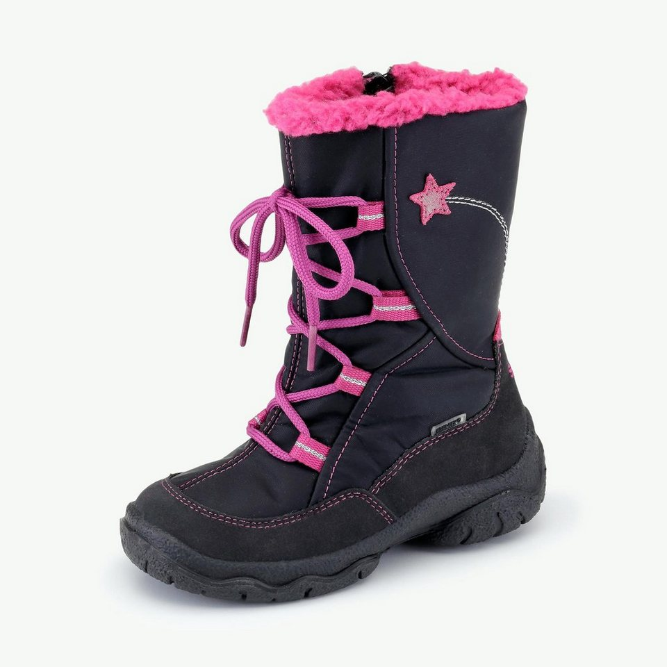 Superfit GORE-TEX® Winterstiefel in schwarz/pink