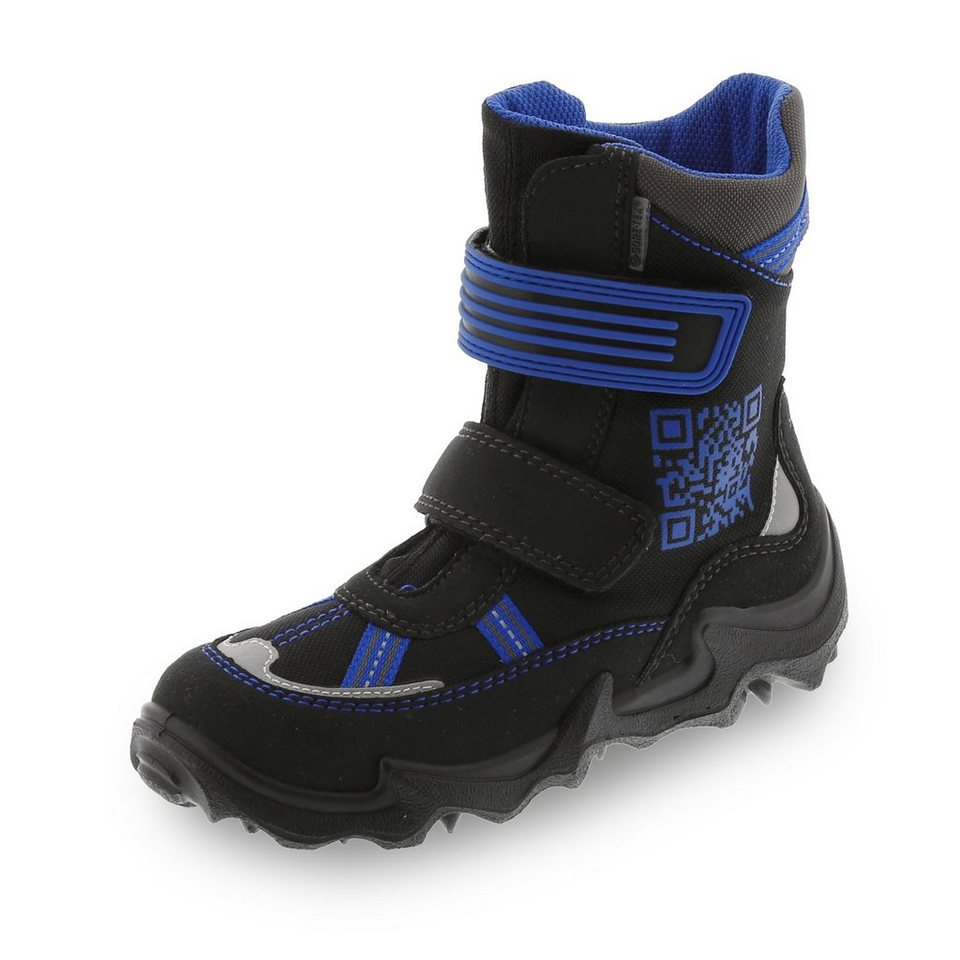 Superfit GORE-TEX® Winterstiefel in schwarz/royalblau