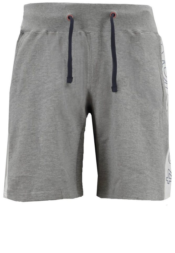 north 56 4 Joggingshorts in Grau Melange