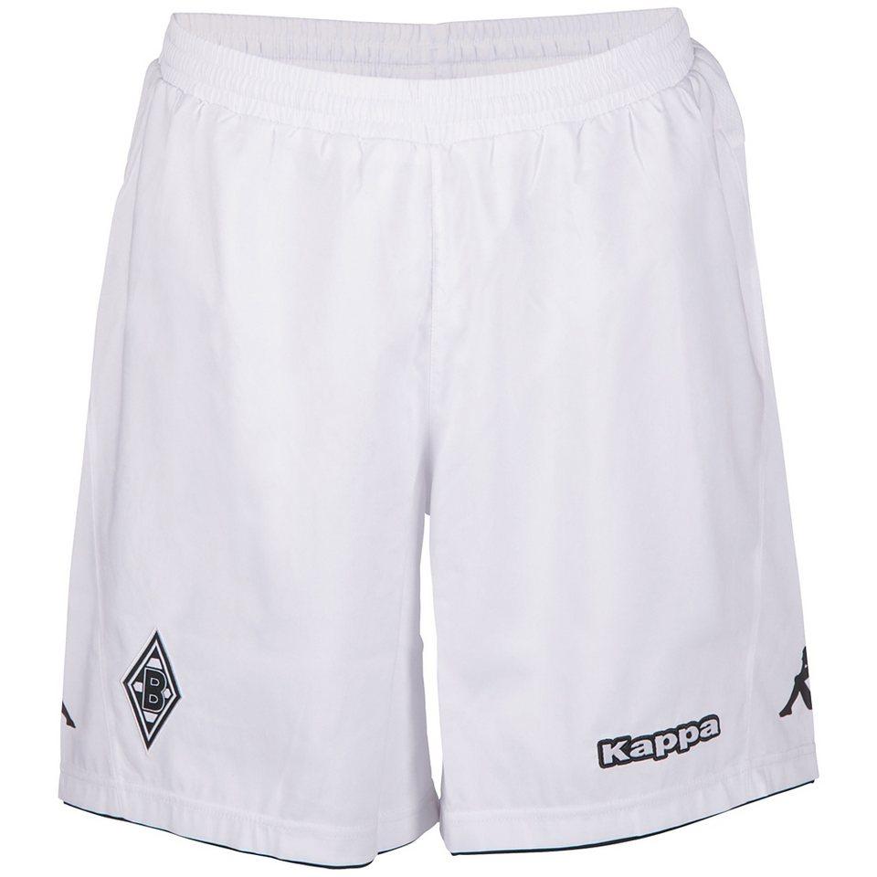 KAPPA Trikotshorts »Borussia Mönchengladbach Trikot-Shorts 15-16« in white