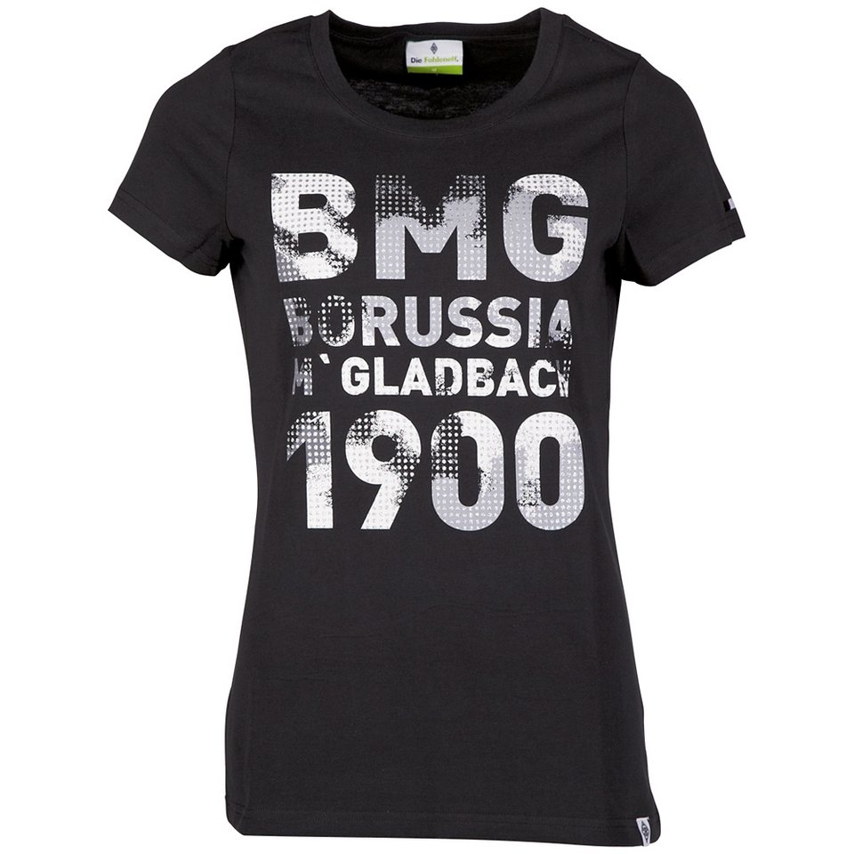 KAPPA T-Shirt »Borussia Mönchengladbach T-Shirt Ladies« in black