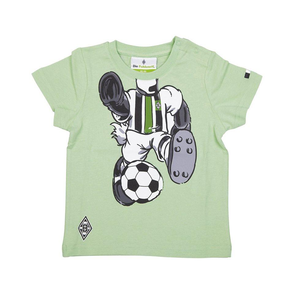 KAPPA T-Shirt »Borussia Mönchengladbach T-Shirt Jünter« in l` grass green
