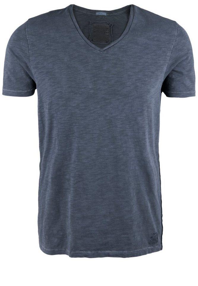 Better Rich Shirt »V-NECK T-SHIRT« in iris blue