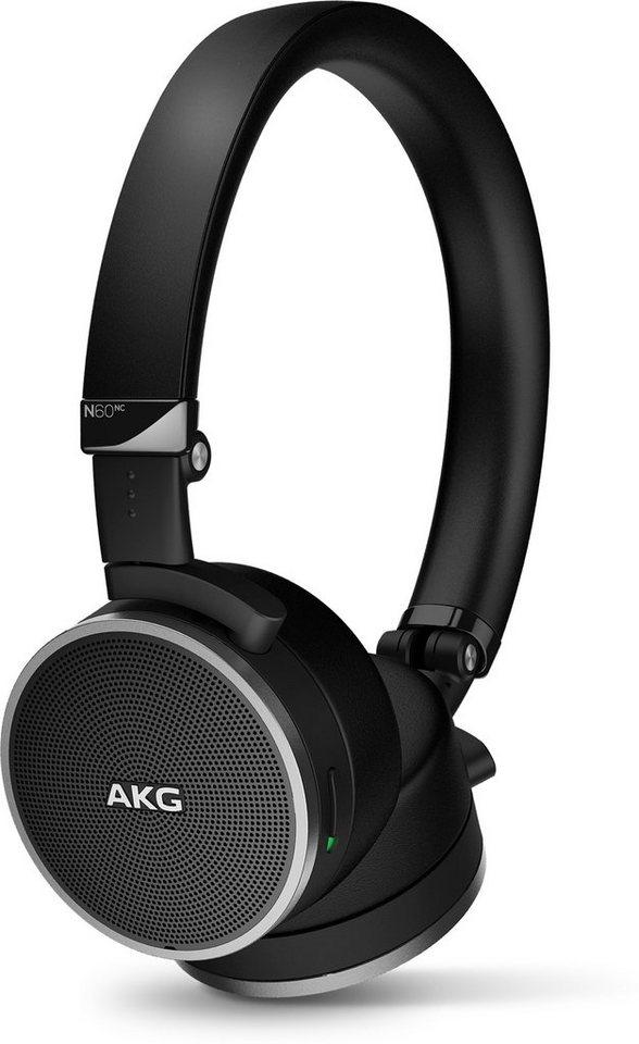 AKG OnEar Noise Cancelling Kopfhörer »N 60NC« in schwarz