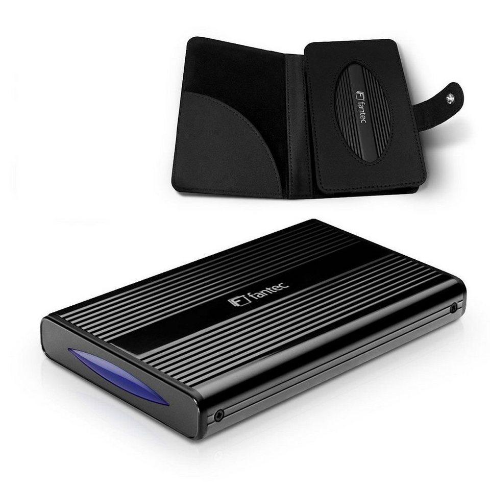 FANTEC Festplattengehäuse »DB-228U3e schwarz USB 3.0 eSATA (1480)« in schwarz