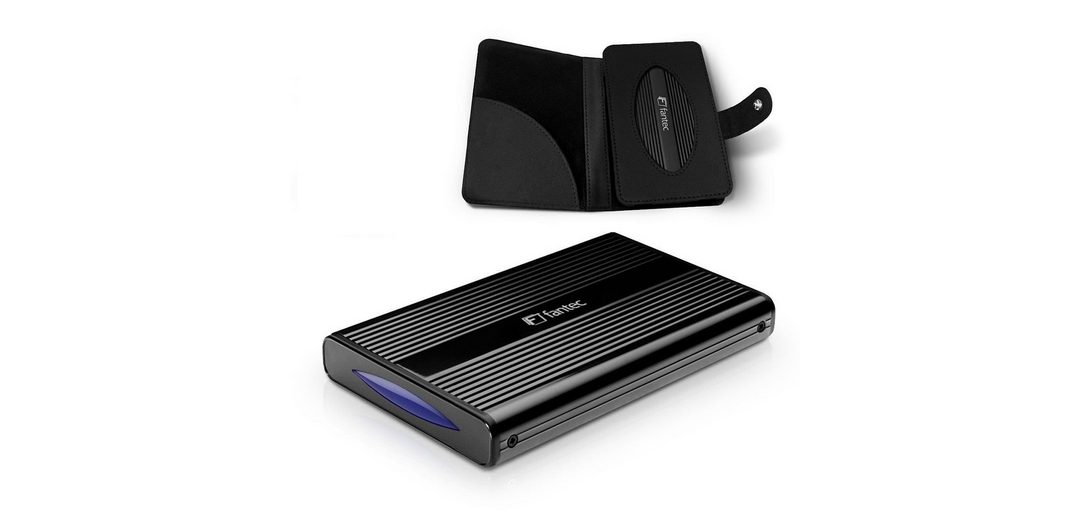 FANTEC Festplattengehäuse »DB-228U3e schwarz USB 3.0 eSATA (1480)«