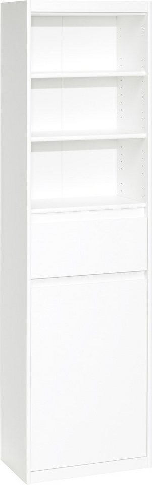 CS Schmal Regal »Smart«, 55 cm breit in weiß matt