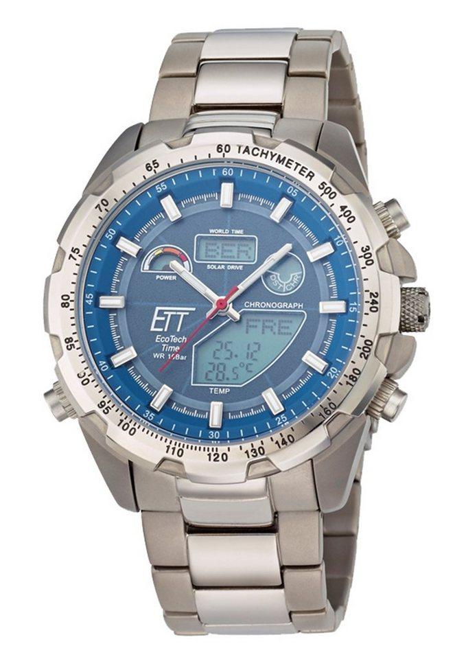 ETT Funkchronograph »EGT-11270-31M« in grau