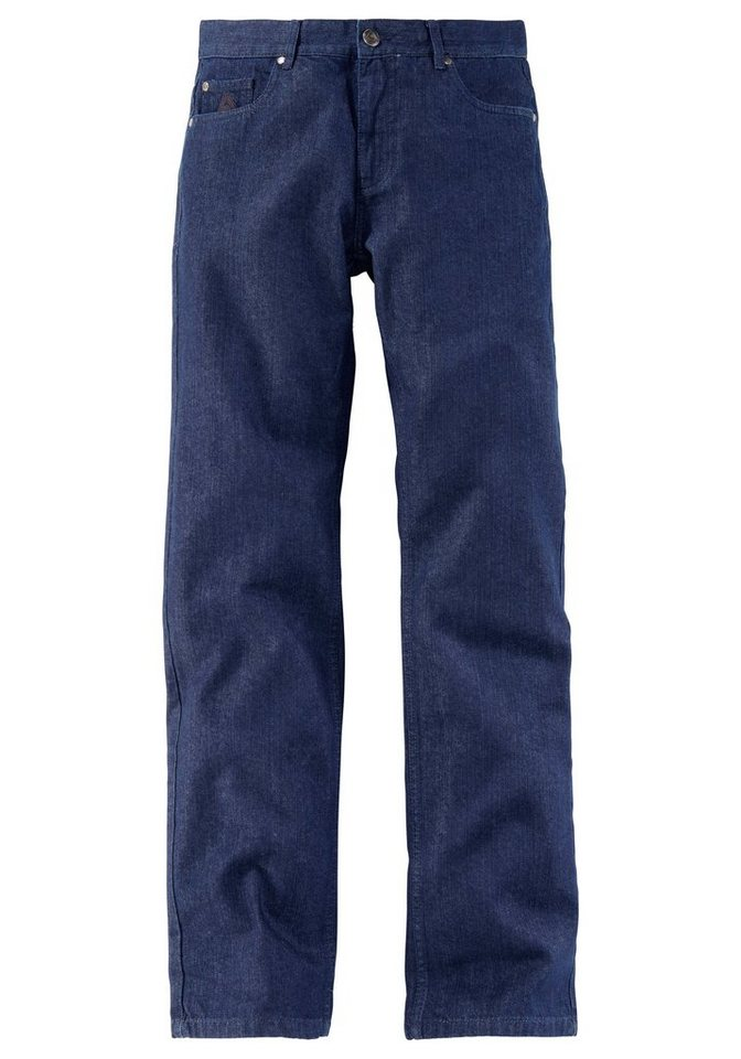 2er Set Arbeitsjeans in blau