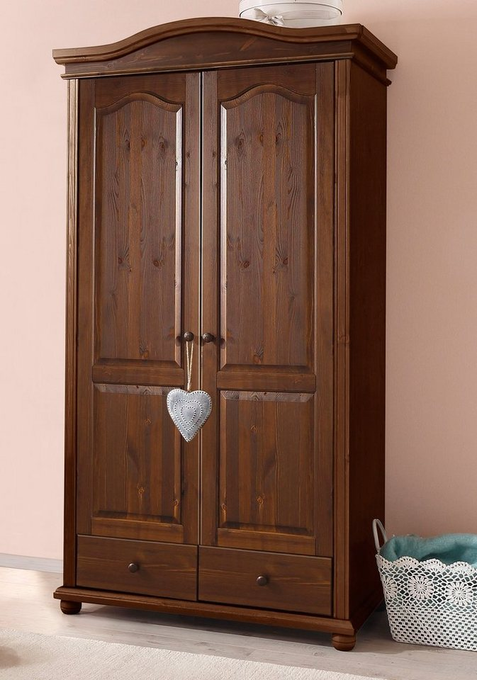 kleiderschrank ulm home affaire online kaufen otto. Black Bedroom Furniture Sets. Home Design Ideas
