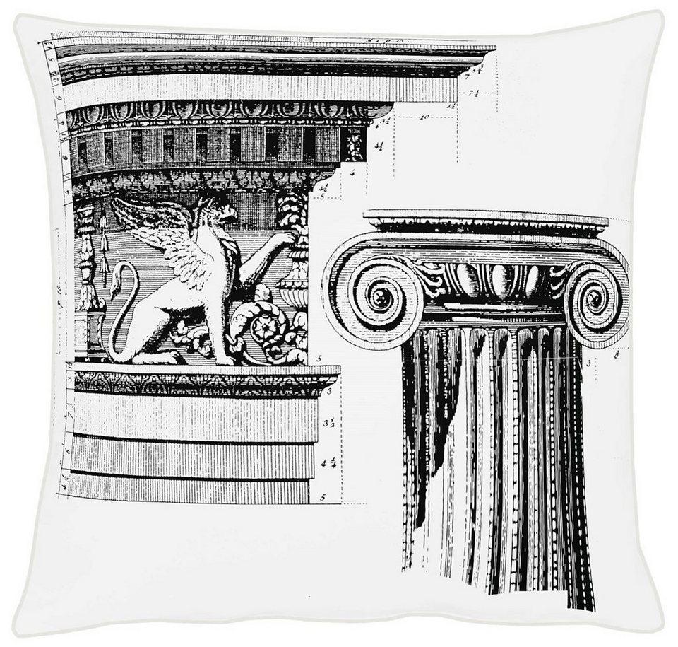 Kissenhüllen, Apelt, »Apollo« (1 Stck.) in grau/weiß