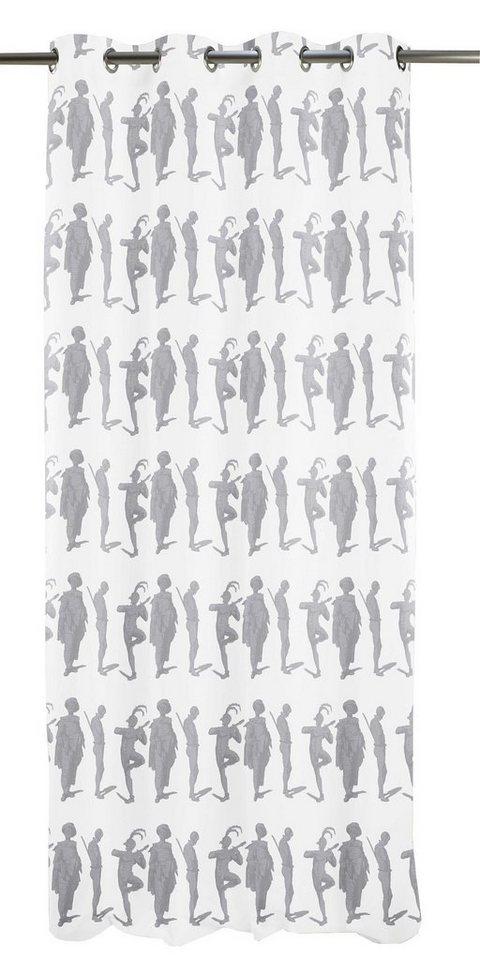 Vorhang, Apelt, »Circus« (1 Stck.) in weiß/grau