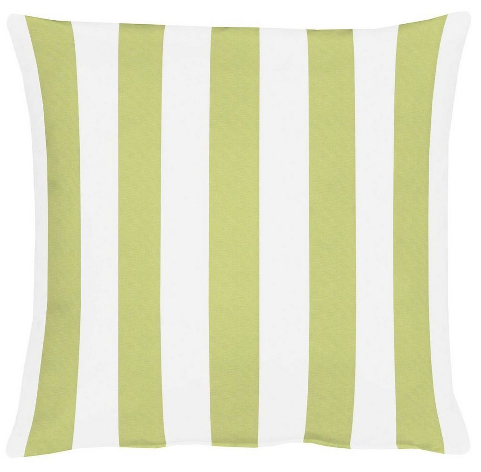 Kissenhüllen, Apelt, »Delfi« (1 Stck.) in weiß/grün