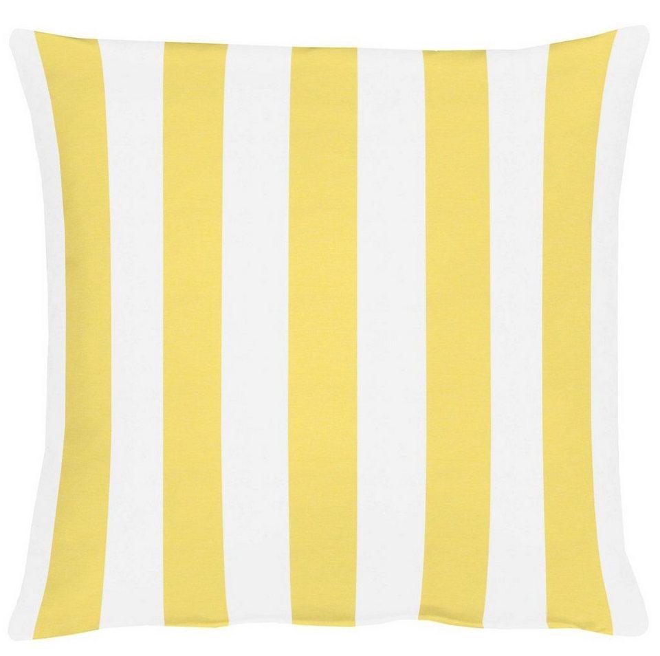 Kissen, Apelt, »Delfi« (1 Stck.) in weiß/gelb