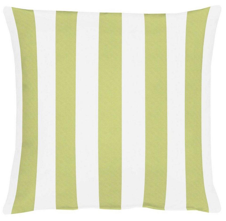 Kissen, Apelt, »Delfi« (1 Stck.) in weiß/grün