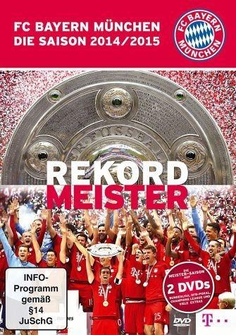 DVD »FC Bayern München - Die Saison 2014/2015:...«