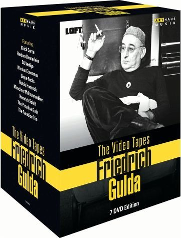 DVD »Friedrich Gulda - The Video Tapes (7 Discs)«